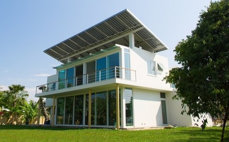 Water Good Idea: Solar-Powered Home Stores Energy As Hydrogen