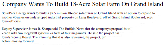 Grand Island Solar