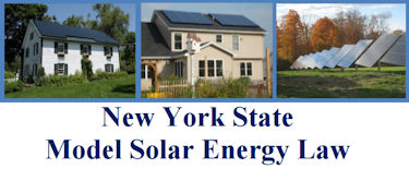 New York State Model Solar Energy Law