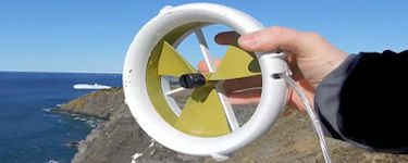 Wet 'N' Windy Portable Turbine Spins Up Battery Power Off-Grid