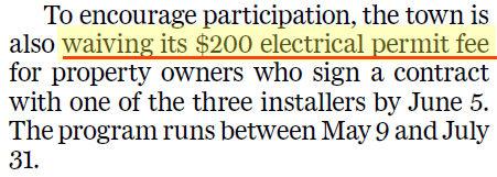 Evans Solar Taxes