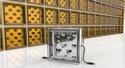 Glass Solar Blocks