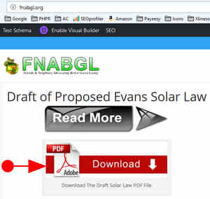 FNABGL Home Page Solar Law